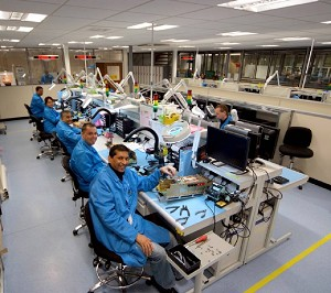 TMD�s new electronics production area
