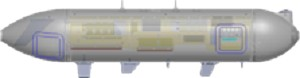 Figure 1: Ultra's TACPOD mid-tier aerial relay communication node allows users on normally incompatible networks to share a single COP.